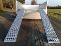 Aluramper 1000 kg. 2500 x 260 x 75 mm Buet model